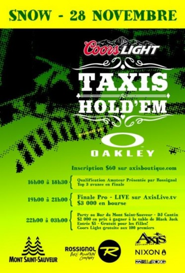 Taxis holdem axis
