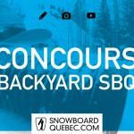 Concours Backyard SBQ