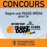Concours Passe Média – Ride Shakedown