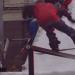 Zach Aller gagne un rail jam en Suède