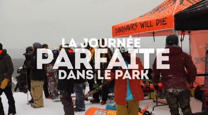 Recap Journée Snowpark Mont Orford