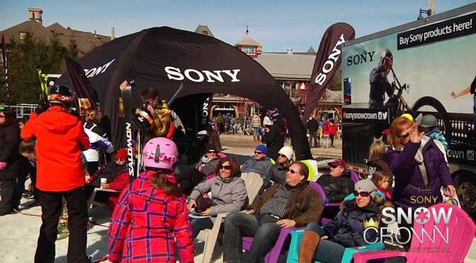 Sony Snow Crown 2015